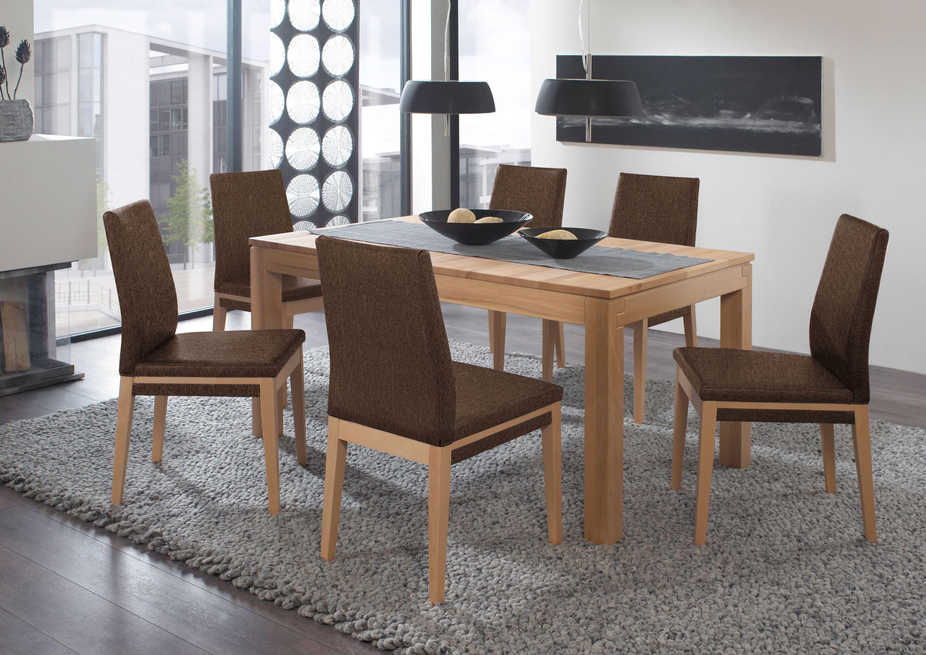 Standard Furniture Polsterstühle Santos mit Tisch Grado