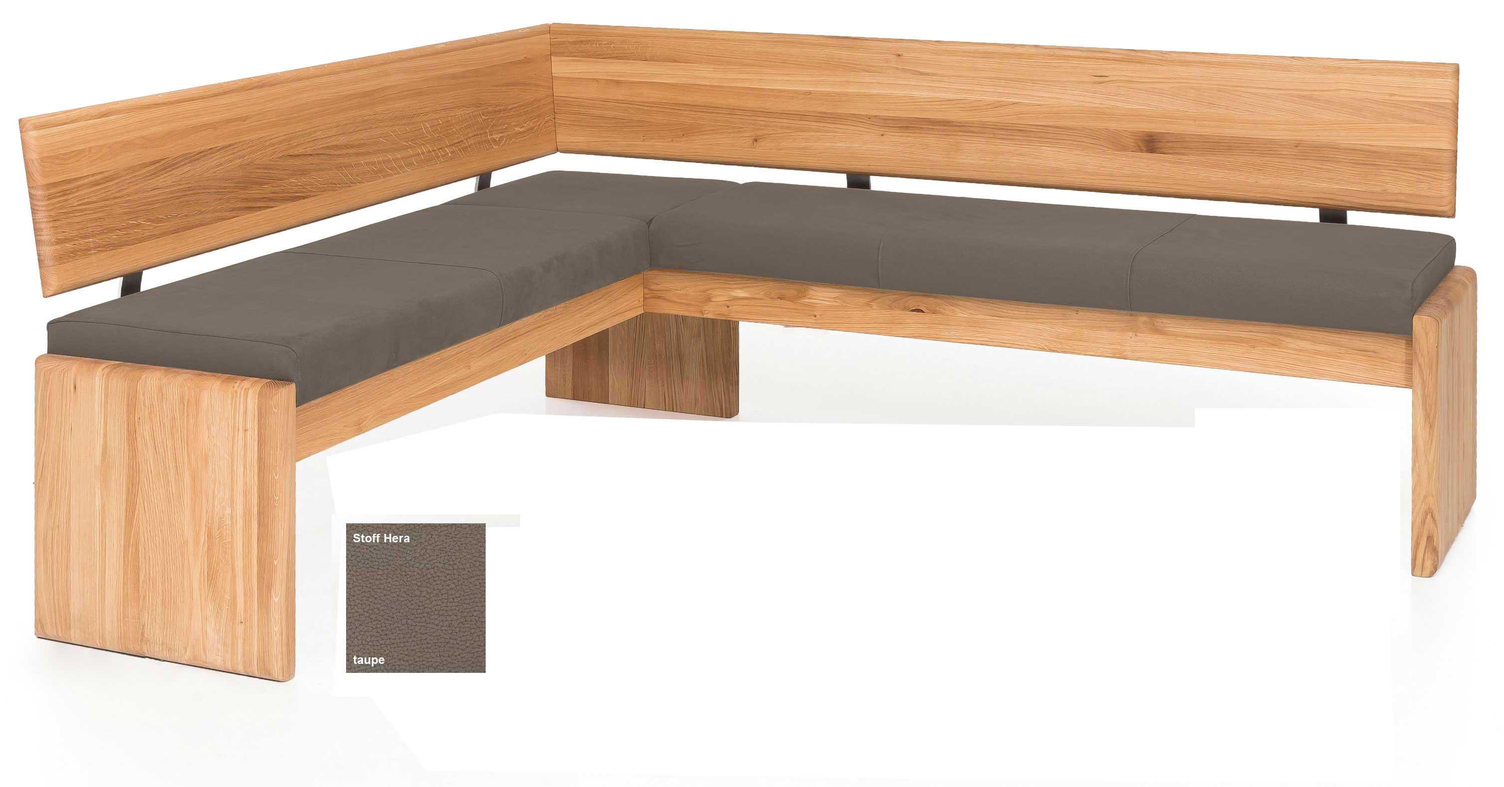 Standard Furniture Stockholm Truheneckbank massiv eiche