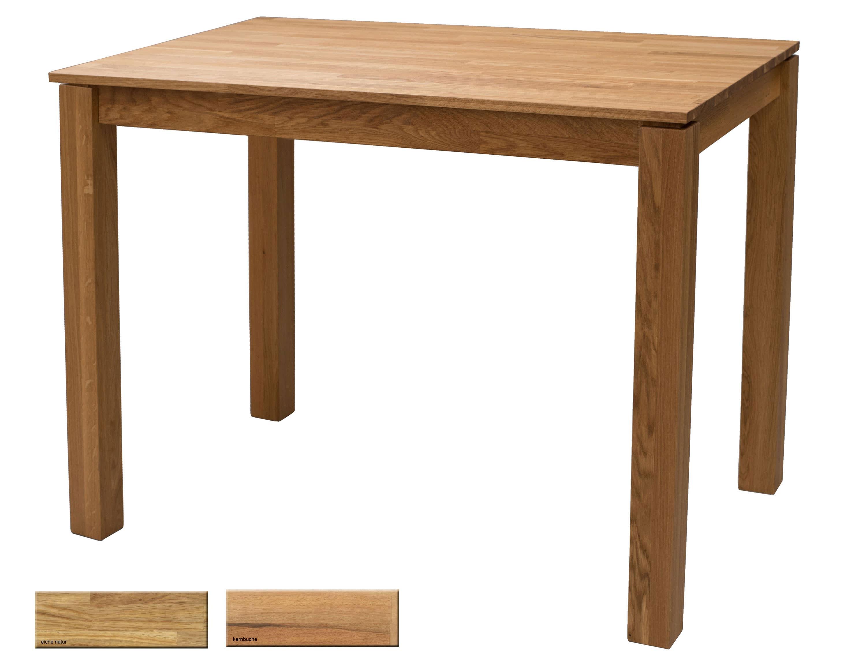 Standard Furniture Tahir Bartisch massiv eiche 125x80 cm