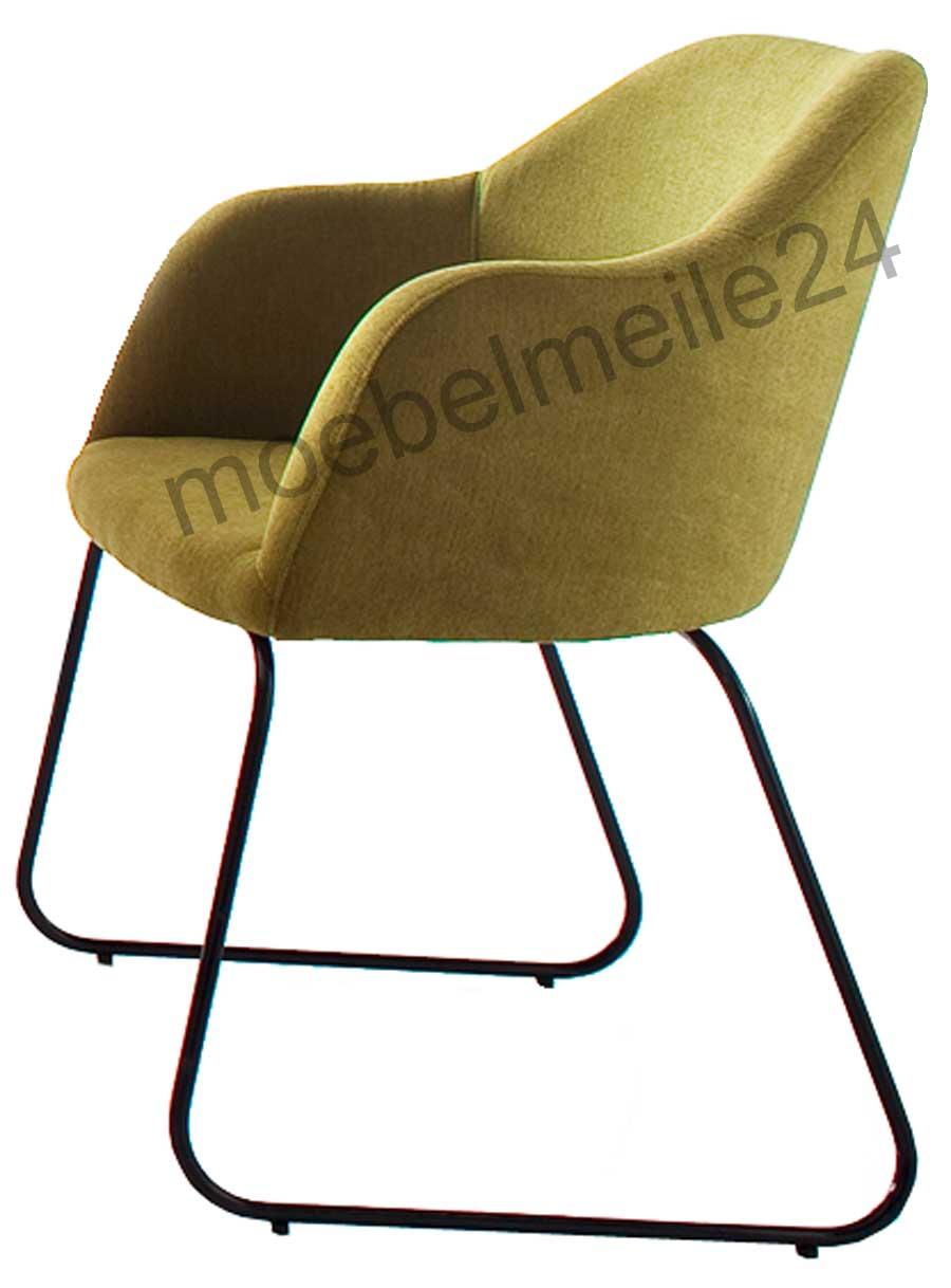 Standard Furniture Theo Schalensessel grün
