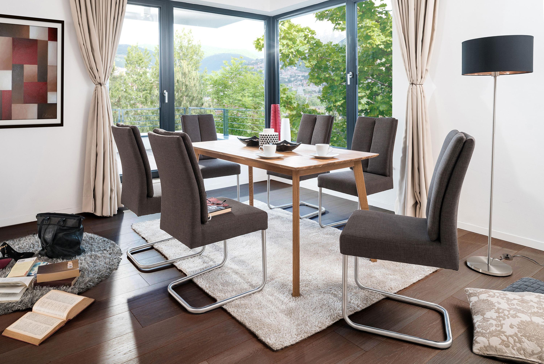 Standard Furniture Tischgruppe mit Freischwinger Timmy u. Tisch Vinko