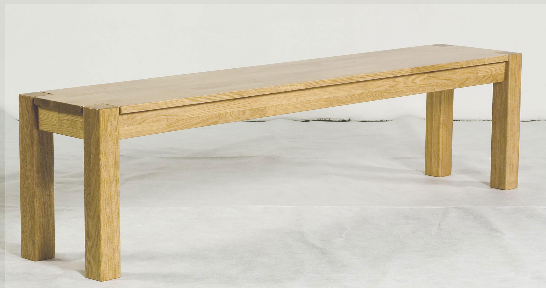 Standard Furniture Timo Holzbank massiv kernbuche