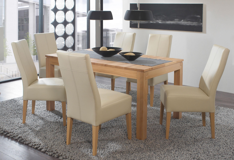 Standard Furniture Essgruppe mit Holztisch Grado und Stuhl Tommy