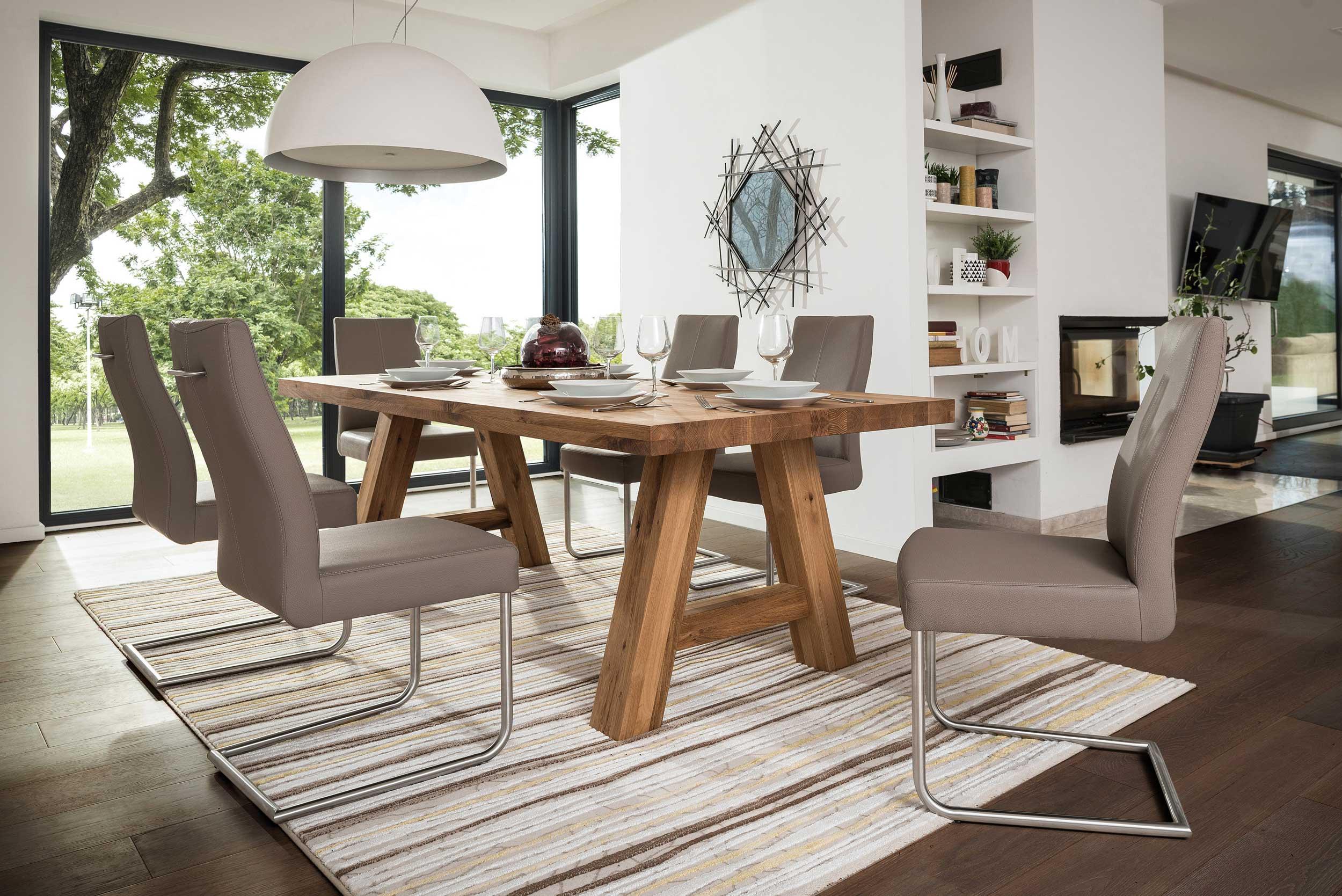 Standard Furniture Lynn Massivholztischh eiche geölt