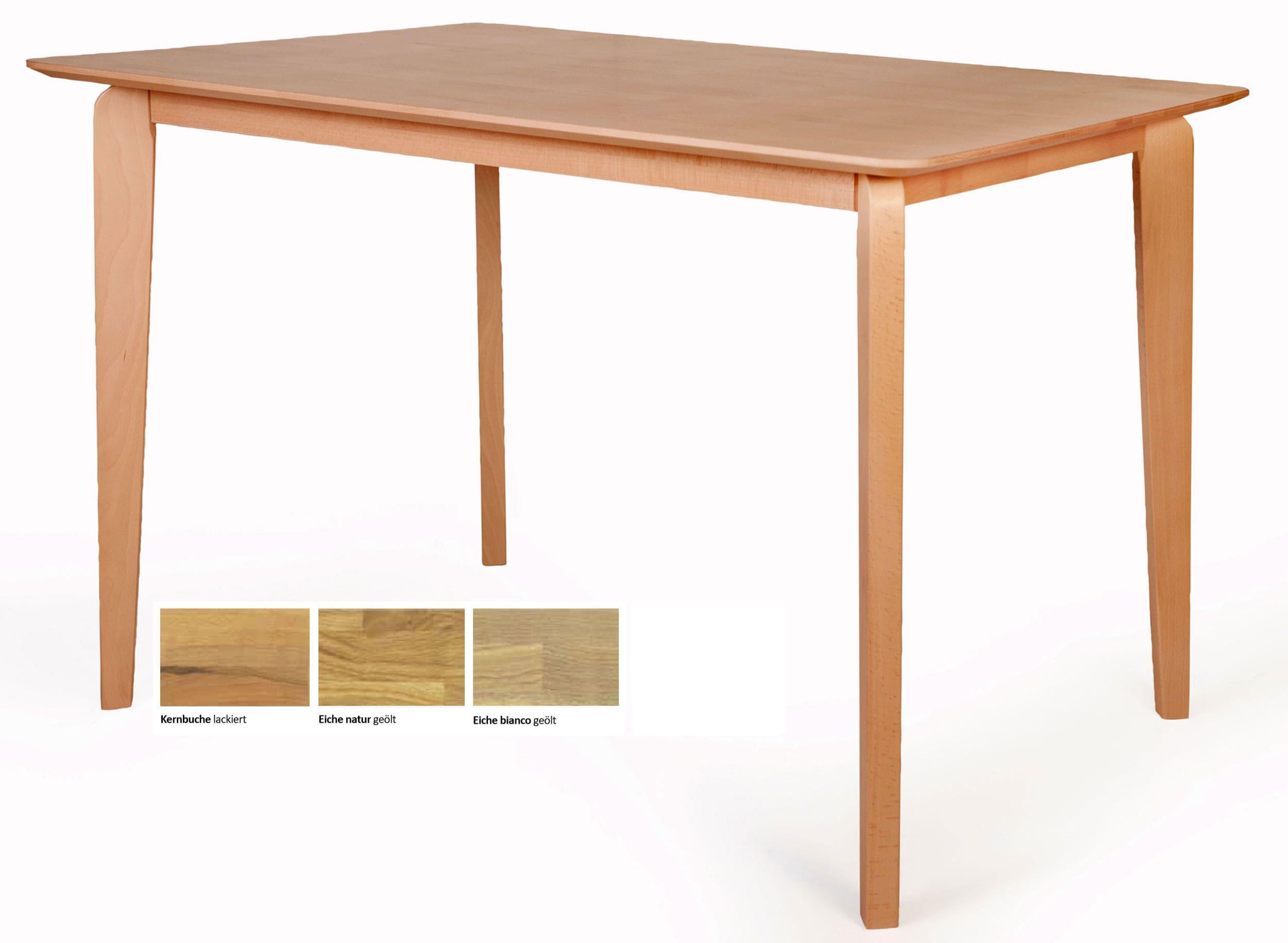 Standard Furniture Liam Stehtisch massiv kernbuche