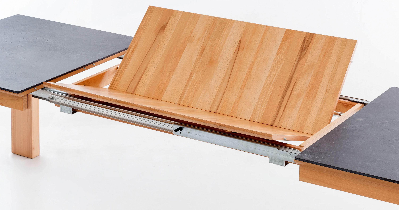 Standard Furniture Malaga Holztisch ausziehbar mit Dektonplatte
