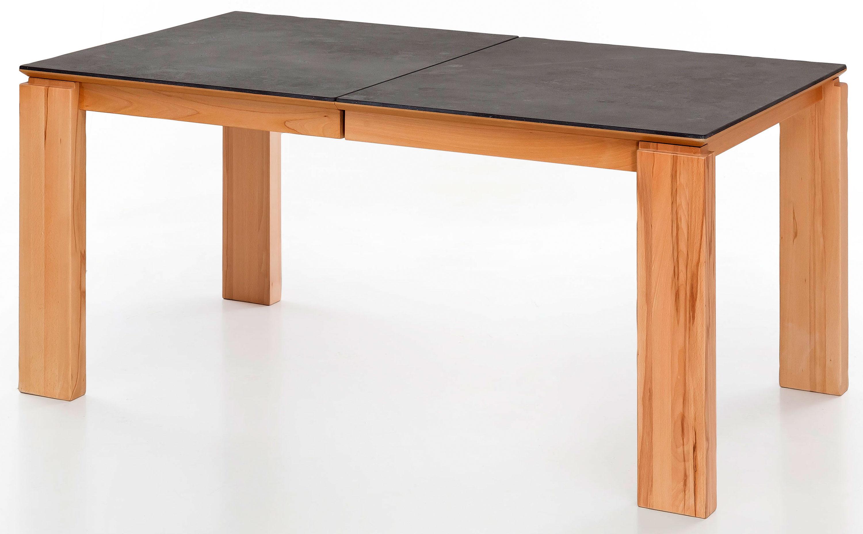Standard Furniture Malaga Massivholztisch ausziehbar mit Dektonplatte