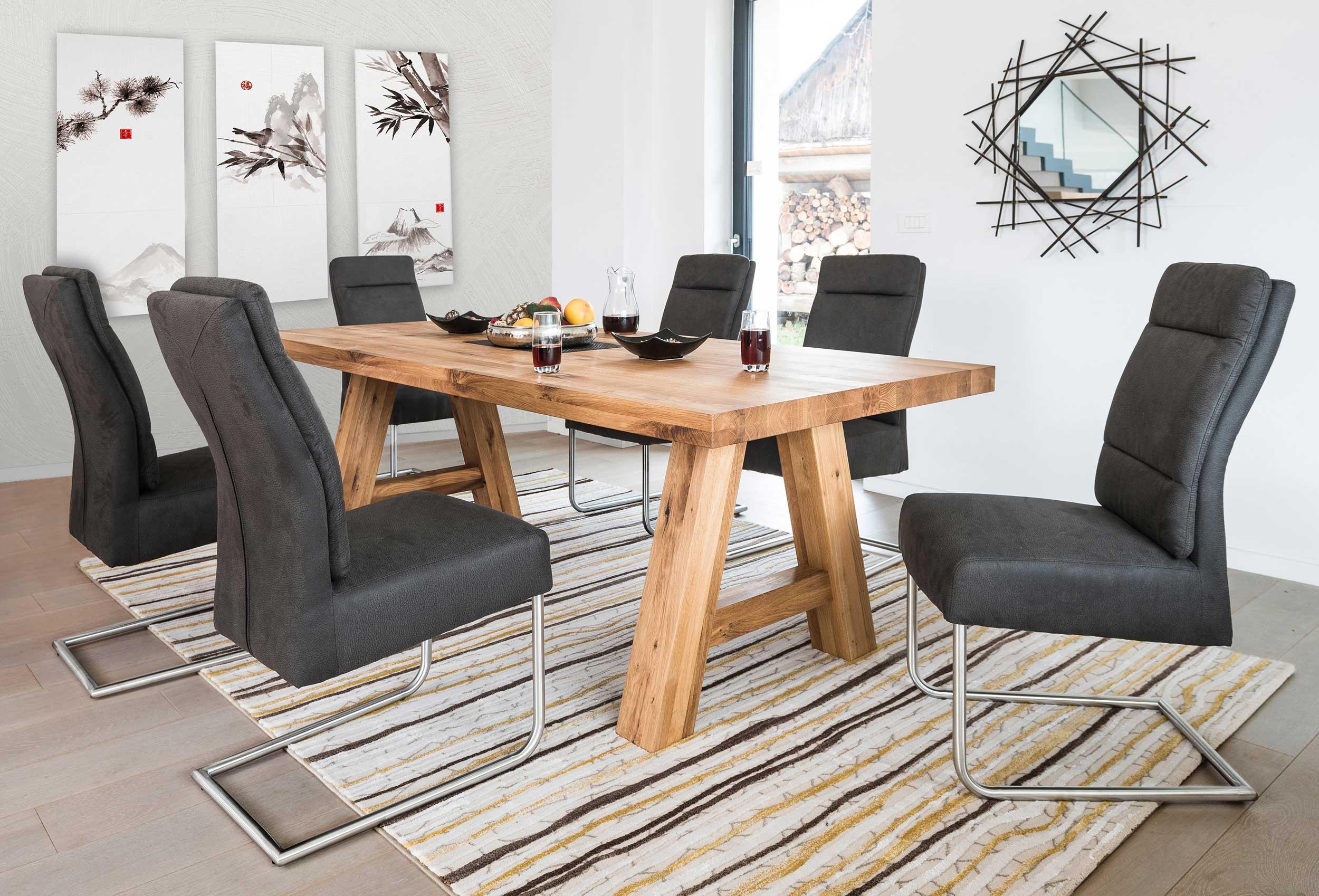 Standard Furniture Lynn Holztischh massiv eiche geölt