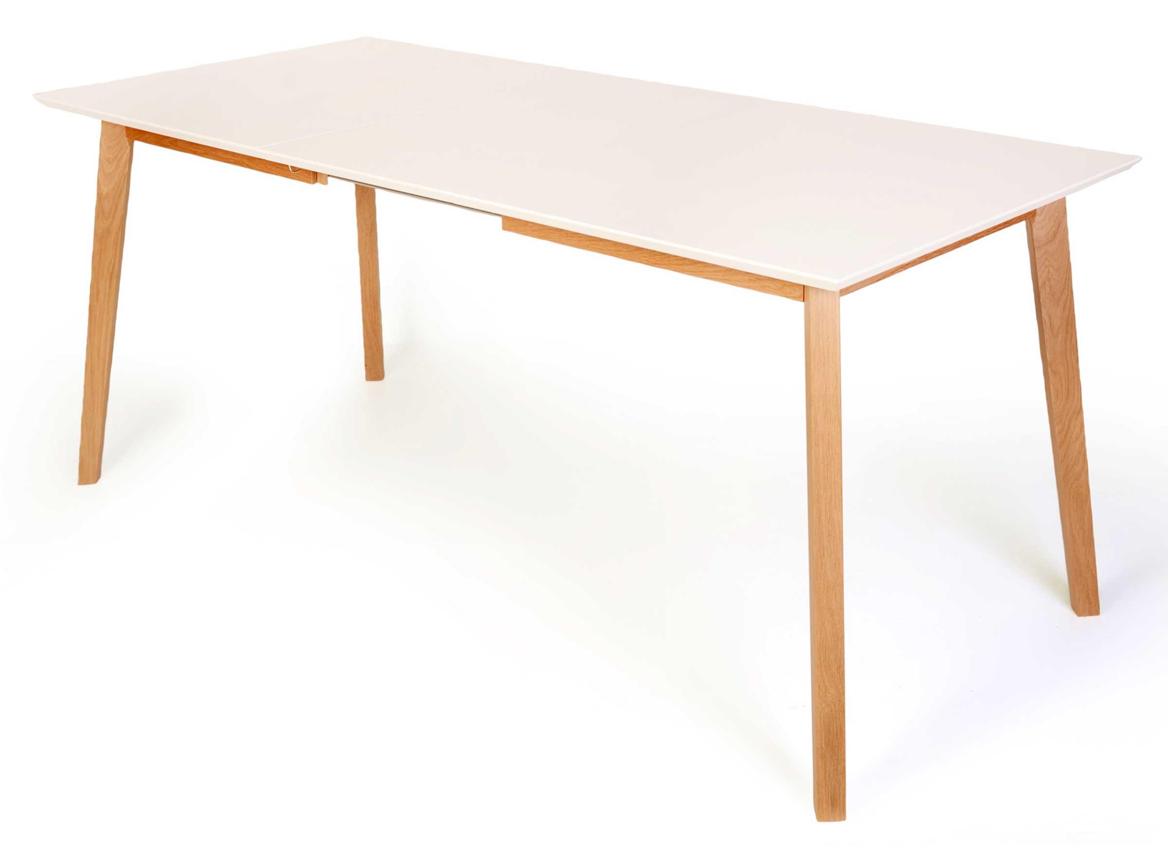 Standard Furniture Vinko Ausziehtisch eiche natur / weiß