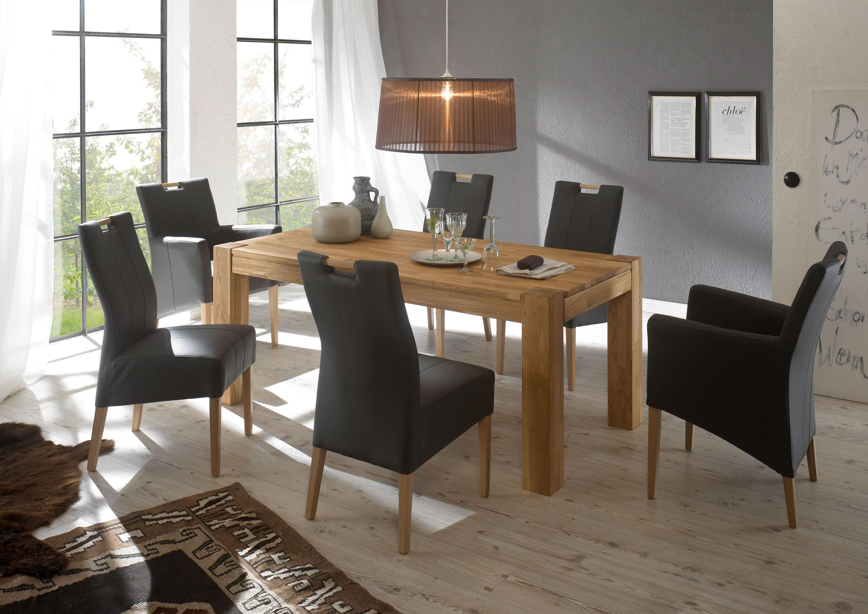 Standard Furniture Tischgruppe mit Stühlen Vigo, Bastian und Tisch Chelsea
