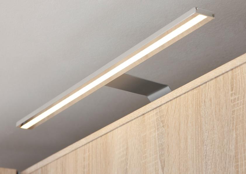 Fineline LED Möbel Leuchten chromfarbig