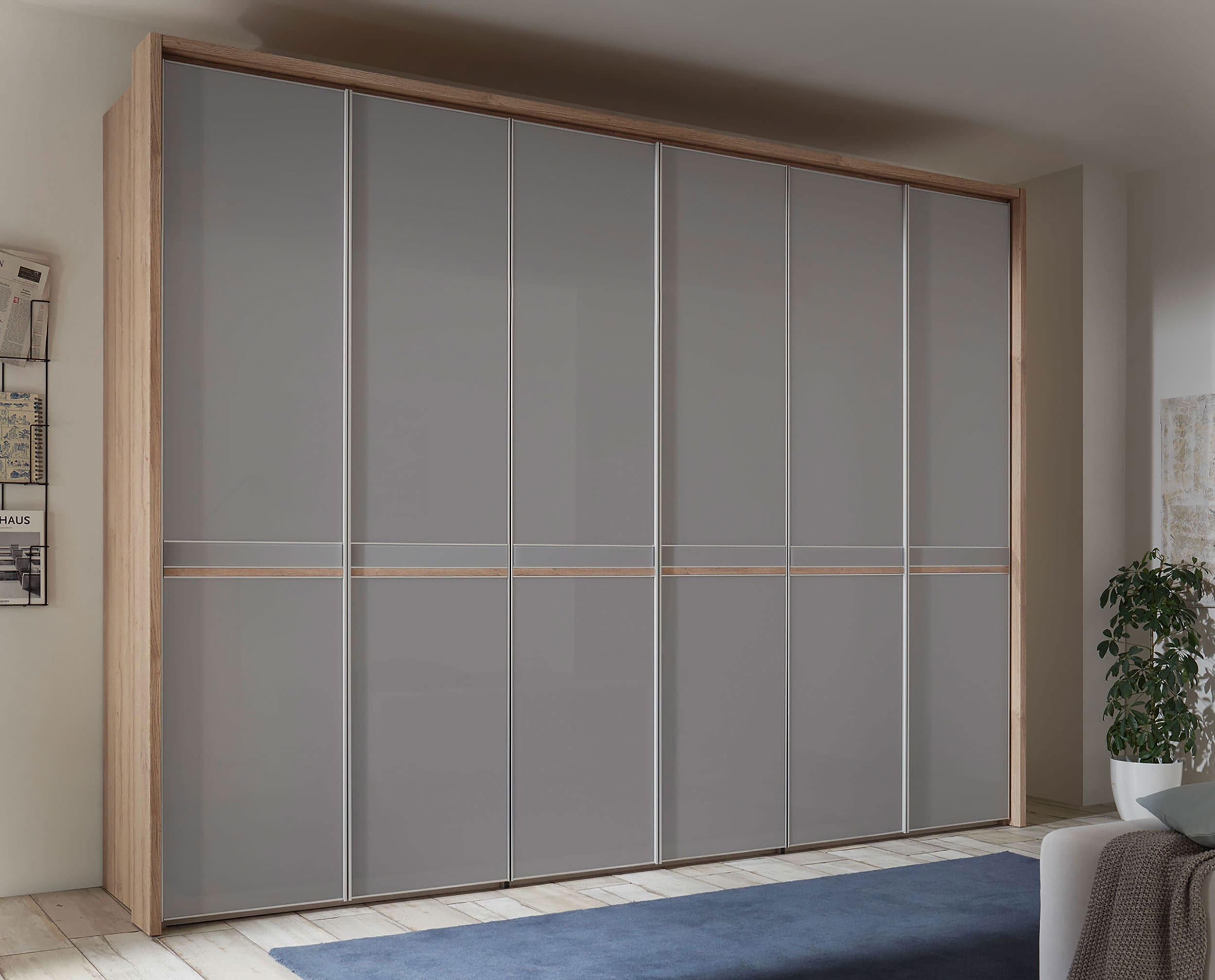 Staud Sonate Icona Kleiderschrank Glas grau eiche