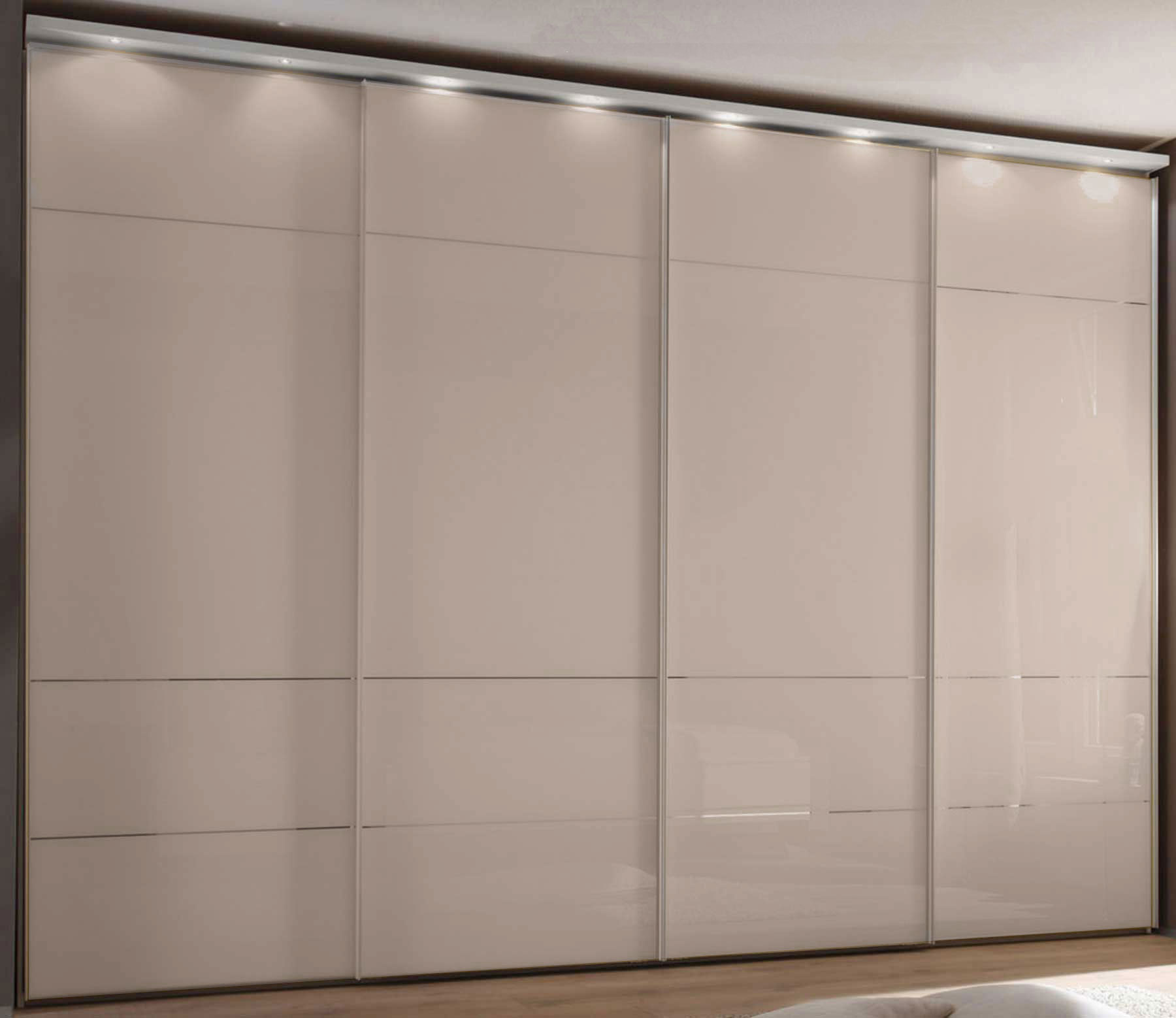 Staud Sonate Lucca Panoramaschrank Glas