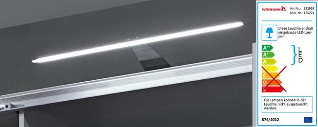 Wiemann Aufbaubeleuchtung Line