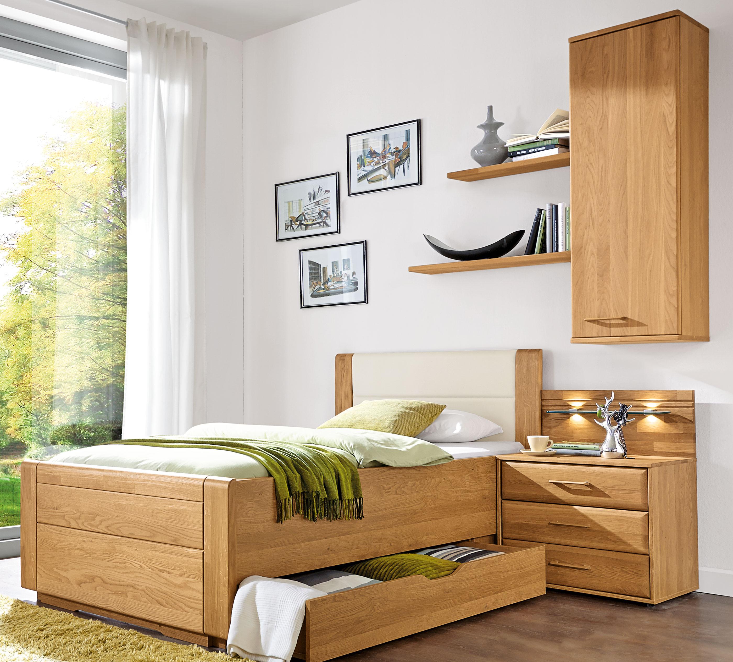 Wiemann Lido Bett eiche 100x200 cm